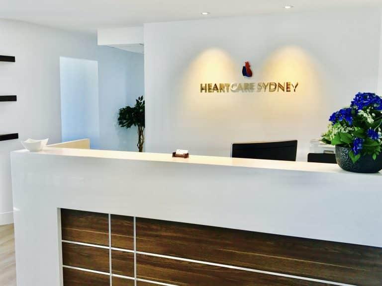 Heartcare Sydney Reception